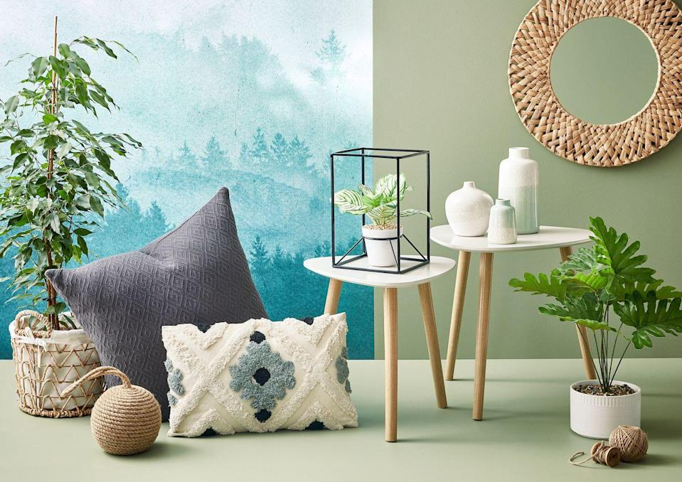 <p>Embrace all things nature this autumn/winter with the Homeland Flora collection. You'll find a calming colour palette of muted greens, greys and blues with bright, bold shades for a spark of fun. It's perfect for creating a cosy, relaxing space.</p>