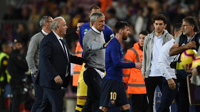 Barcelona's new coach Quique Setien has no concerns over the willingness of Barcelona's squad to adapt to his style of play.