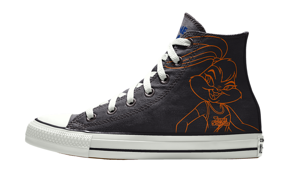 """The custom """"Space Jam: A New Legacy"""" x Converse Chuck Taylor All Star. - Credit: Courtesy of Converse"""