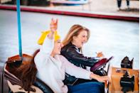 <p>If your area has one you can visit safely, hit up a fall festival or carnival for some old-fashioned fun. Grab some midway chow, challenge each other to some friendly whack-a-mole competition, and don't sleep on the petting zoo. </p>
