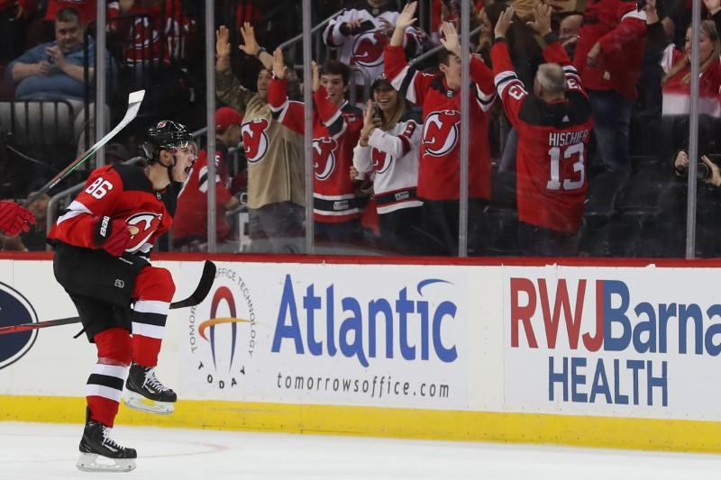 NHL roundup: Hughes nets first goal in Devils' win