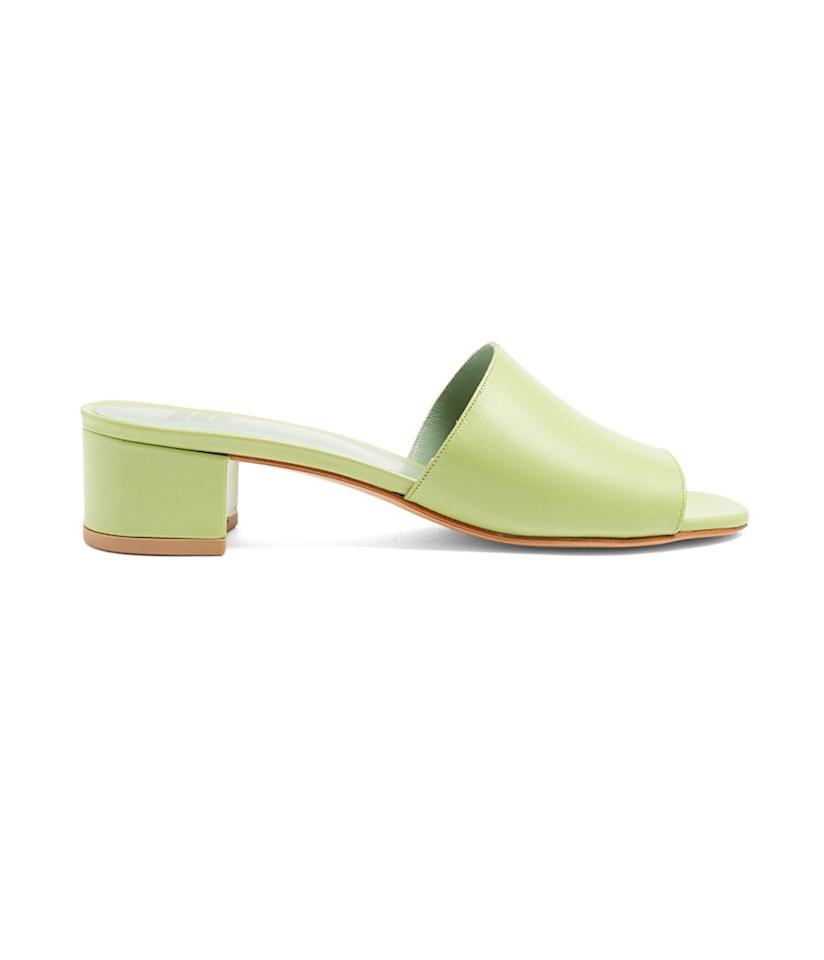 "<p>Sophie leather sandals, $385, <a rel=""nofollow"" href=""http://www.matchesfashion.com/us/products/Maryam-Nassir-Zadeh-Sophie-leather-sandals-1073871"">matchesfashion.com</a> </p>"