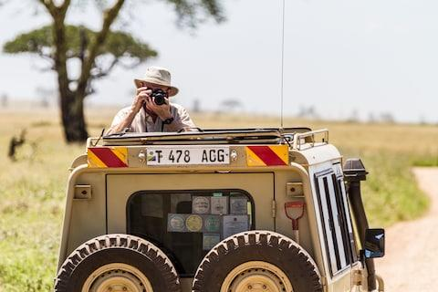 Special photography courses are available on some safaris