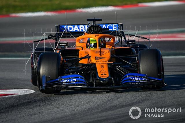 "Lando Norris, McLaren MCL35 <span class=""copyright"">Mark Sutton / Motorsport Images</span>"