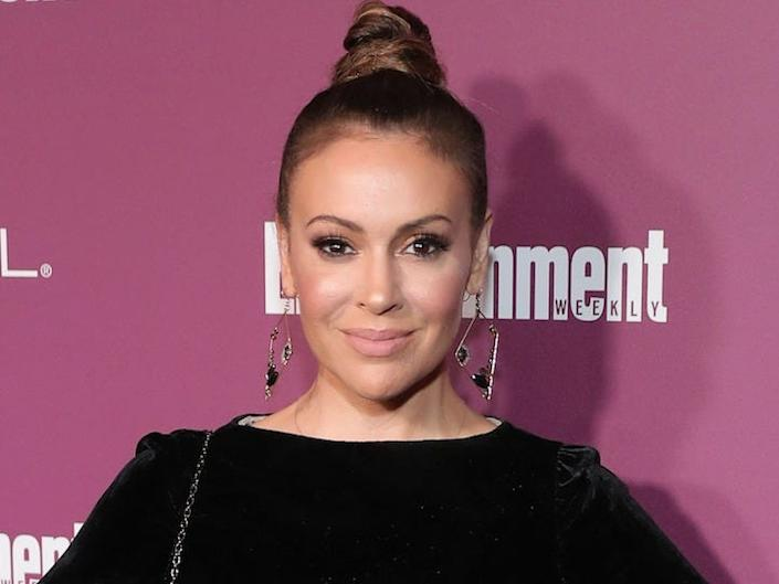 "Alyssa Milano is an actress. <p class=""copyright"">Neilson Barnard/Getty Images</p>"