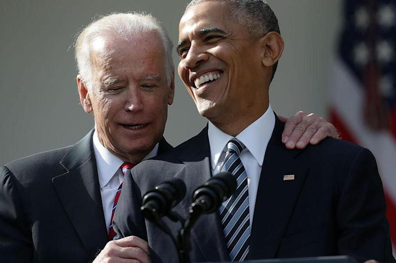 BROTUS: Barack Obama and Joe Biden: Getty Images