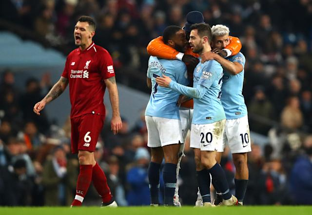 Manchester City's win over Liverpool means the Premier League should have its first proper title race in half a decade. (Getty)