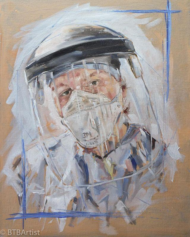 "<p>It's not just chefs and cooks who are using their skills to support the NHS (see below), other creatives are also burgeoning with ideas.</p><p>Earlier this month, artist <a href=""https://www.instagram.com/tomcroftartist/"" rel=""nofollow noopener"" target=""_blank"" data-ylk=""slk:Tom Croft"" class=""link rapid-noclick-resp"">Tom Croft </a>launched #PortraitsforNHSHeroes to paint a free oil portrait of an NHS workers to the first who messaged him via Instagram. He has since enlisted 500 other artists for the initiative to pair them with a healthcare worker working on the frontline to paint or sketch for free. When the pandemic is over, he hopes to hold an exhibition of the powerful portraits.</p><p><a href=""https://www.instagram.com/p/B-4HXZJH2pu/"" rel=""nofollow noopener"" target=""_blank"" data-ylk=""slk:See the original post on Instagram"" class=""link rapid-noclick-resp"">See the original post on Instagram</a></p>"