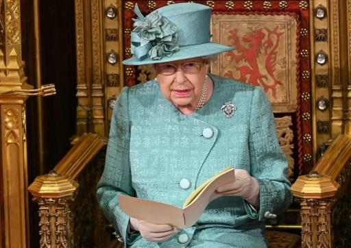 """Britain's Queen Elizabeth II has been troubled by a series of scandals and misfortunes in a year she described as """"quite bumpy"""" in her Christmas Day message"""