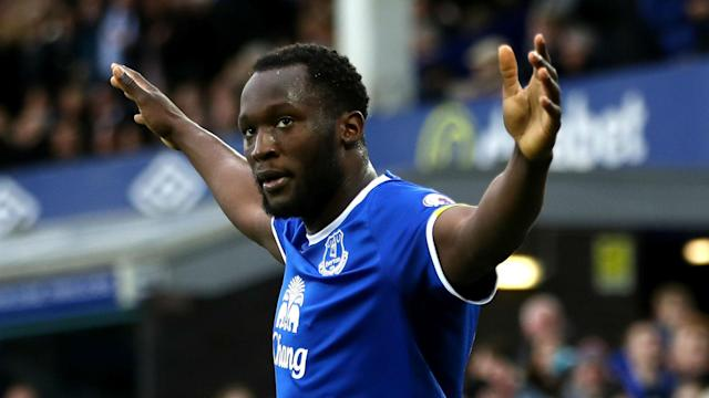 Romelu Lukaku's fine form in front of goal earned the Everton and Belgium striker the Premier League Player of the Month award.
