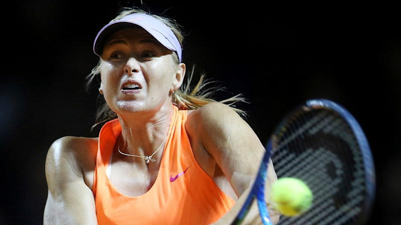 Sharapova in Q/F of Stuttgart Open After Second Win Since Return