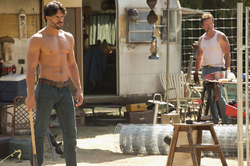 "Joe Manganiello and Robert Patrick in the ""True Blood"" episode, ""Sunset."""