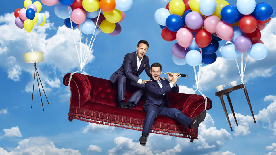 'Ant & Dec's Saturday Night Takeaway' will film without a studio audience to limit the spread of coronavirus. (ITV)