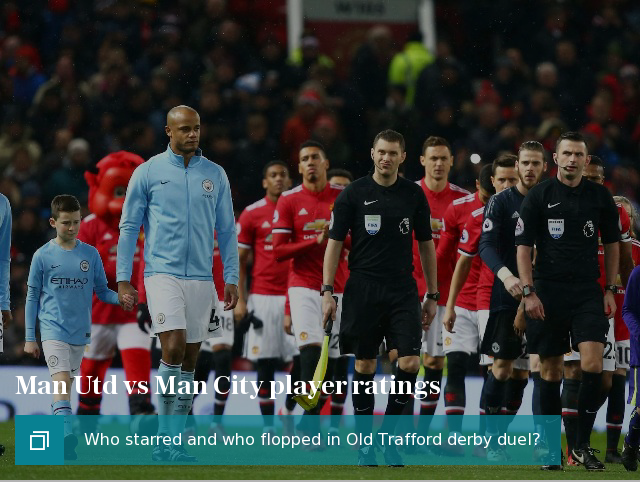 Jose Mourinho questions 'behaviour' and 'education' of Man City stars after Manchester derby brawl