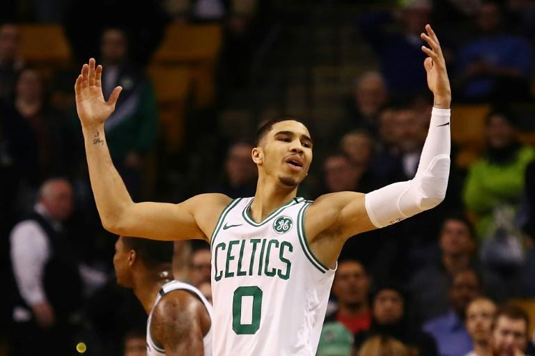 Jayson Tatum led Boston with 23 points and 11 rebounds in a 100-99 victory over the Oklahoma City Thunder