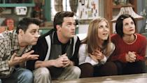 """<p> <strong>Years: </strong>1994 – 2004 </p> <p> Ross, Rachel, Monica, Phoebe, Joey, Chandler – names that, during the '90s, everybody knew. Friends influenced haircuts, coffee shop culture and the English language, bringing """"How you doing?"""" into the lexicon. Not bad for a show that often looks like standard sitcom fodder. But don't underestimate this show – it's fearsomely well written, a non-stop barrage of joke-after-joke-after-joke. It's dated a little since, but the fact remains it's a damn funny show. <em>WS</em> </p>"""