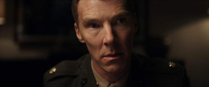 """Benedict Cumberbatch stars as Lt. Col. Stuart Couch, a Marine Corps lawyer, in """"The Mauritanian."""""""