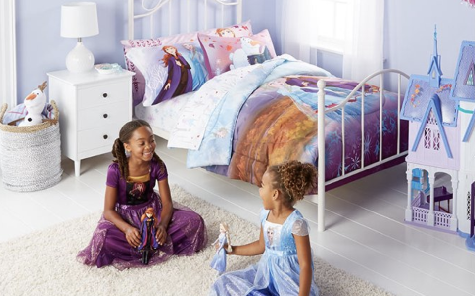 Get ready parents and grandparents: Walmart's Frozen II collection is here! (Photo: Walmart)