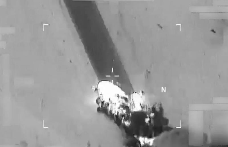 US-led airstrike on ISIS in Iraq