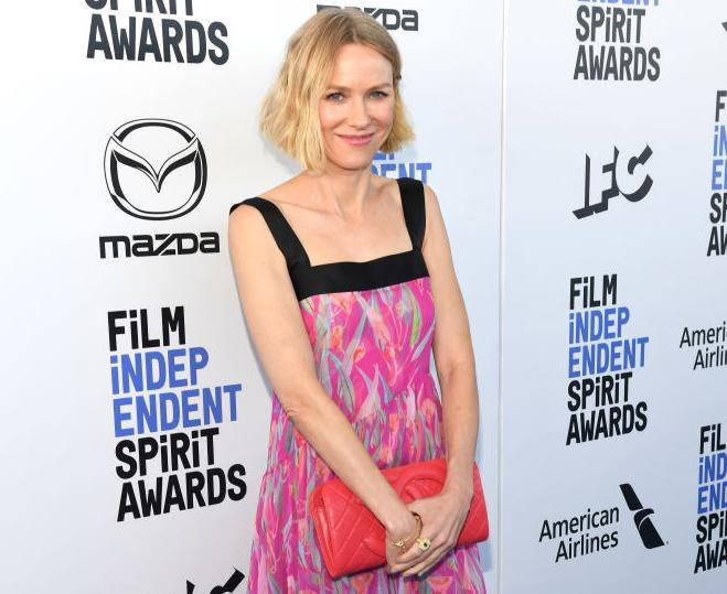 Naomi Watts attends the 2020 Film Independent Spirit Awards on February 08, 2020 in Santa Monica, California. (Photo by Kevin Mazur/Getty Images)