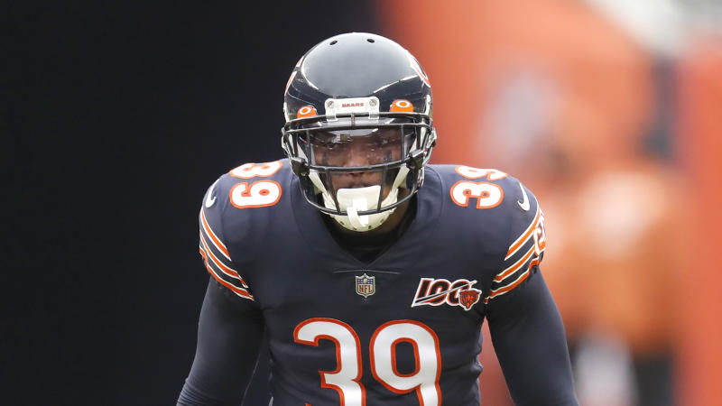 The Chicago Bears and safety Eddie Jackson agreed to a contract extension for the 2017 fourth-round pick. (AP/Charles Rex Arbogast)