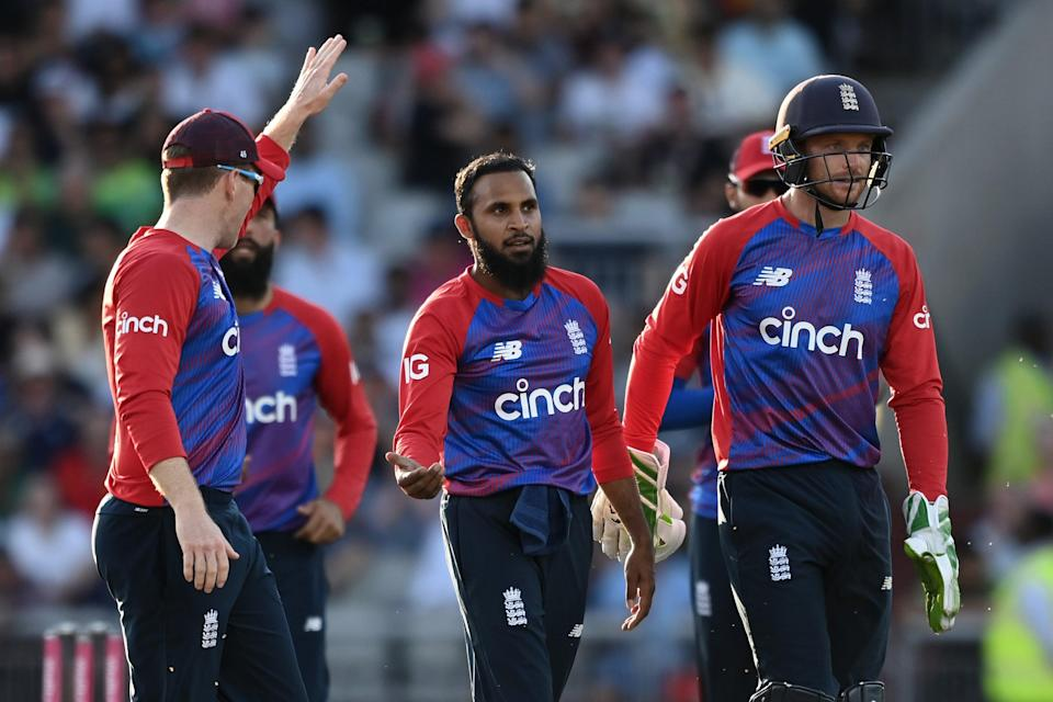 Adil Rashid bowled career-best figures of four for 35 against Pakistan at Old Trafford (Getty Images)