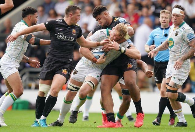 Exeter lost at home to Northampton last weekend