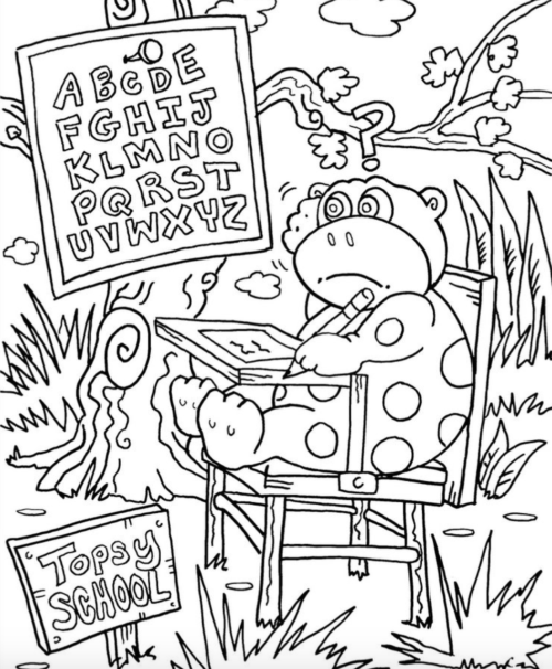 The Best Coloring Book Is The Internet