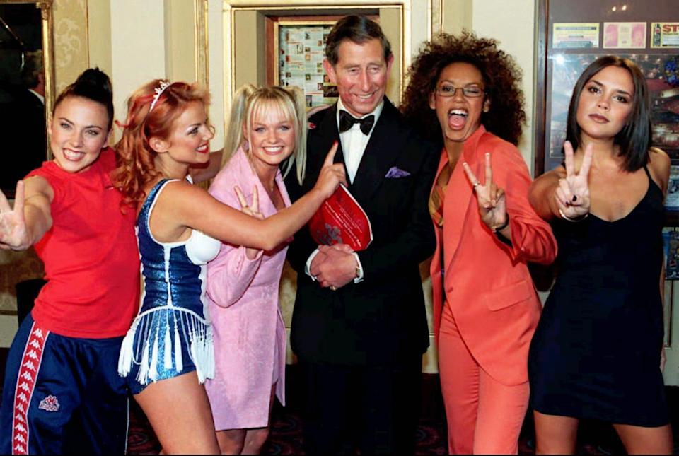 The Spice Girls (Credit: AP)