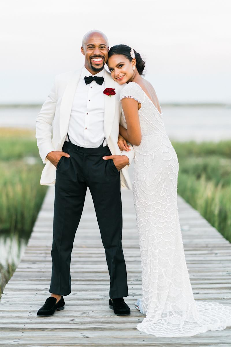 An At-Home Wedding on the North Carolina Waterfront