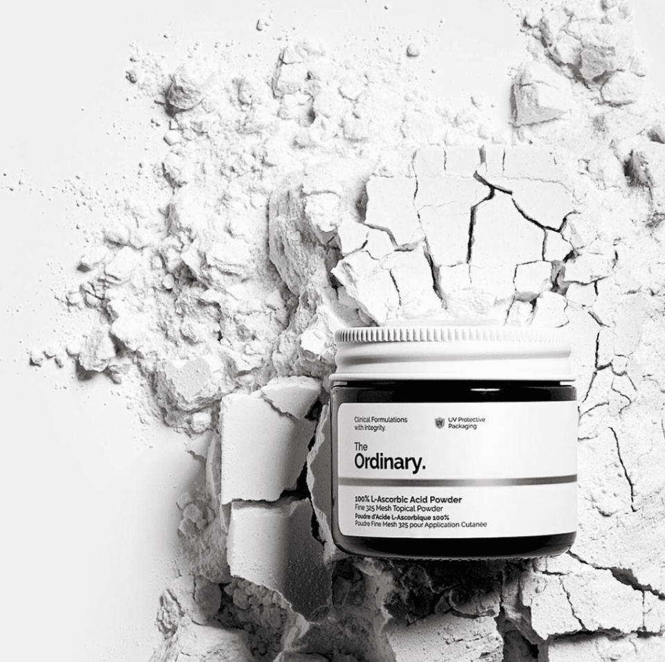 The Ordinary 100% L-Ascorbic Acid Powder (Photo via The Ordinary)