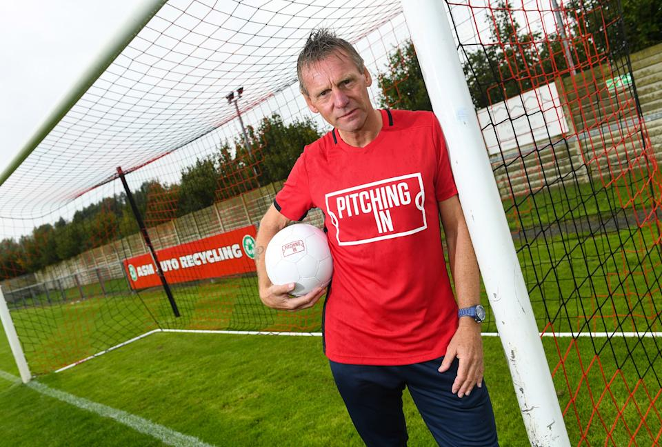 Former England skipper Stuart Pearce is an ambassador for Pitching In and knows the non-league game is the lifeblood of English football