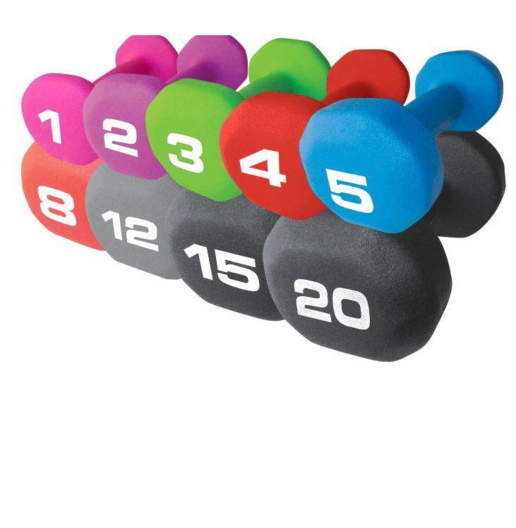 "<p><em><strong>Fitness Gear Neoprene Dumbbells</strong></em><br><em>From $2, <a href=""https://www.dickssportinggoods.com/p/fitness-gear-neoprene-dumbbell-16fgeufg1lbnprndmdmb/16fgeufg1lbnprndmdmb"" rel=""nofollow noopener"" target=""_blank"" data-ylk=""slk:dickssportinggoods.com"" class=""link rapid-noclick-resp"">dickssportinggoods.com</a></em><br><a class=""link rapid-noclick-resp"" href=""https://go.redirectingat.com?id=74968X1596630&url=https%3A%2F%2Fwww.dickssportinggoods.com%2Fp%2Ffitness-gear-neoprene-dumbbell-16fgeufg1lbnprndmdmb%2F16fgeufg1lbnprndmdmb&sref=https%3A%2F%2Fwww.esquire.com%2Flifestyle%2Fhealth%2Fg32213300%2Fbest-home-workout-gear-subscriptions%2F"" rel=""nofollow noopener"" target=""_blank"" data-ylk=""slk:Buy"">Buy</a></p><p>Such an easy solution. Chances are you have a pair of dumbbells lying around somewhere, and if not, plenty of places are still shipping these bad boys for pretty cheap. Toss on some music, get pumped, and do bicep curls or overhead lifts or any of the thousands of exercises you can do with dumbbells. I love these things because you literally pick them up and lift them, and if you use the right weight they are heavy enough to be a workout but light enough that you're not going to hurt yourself overdoing it.<br></p>"