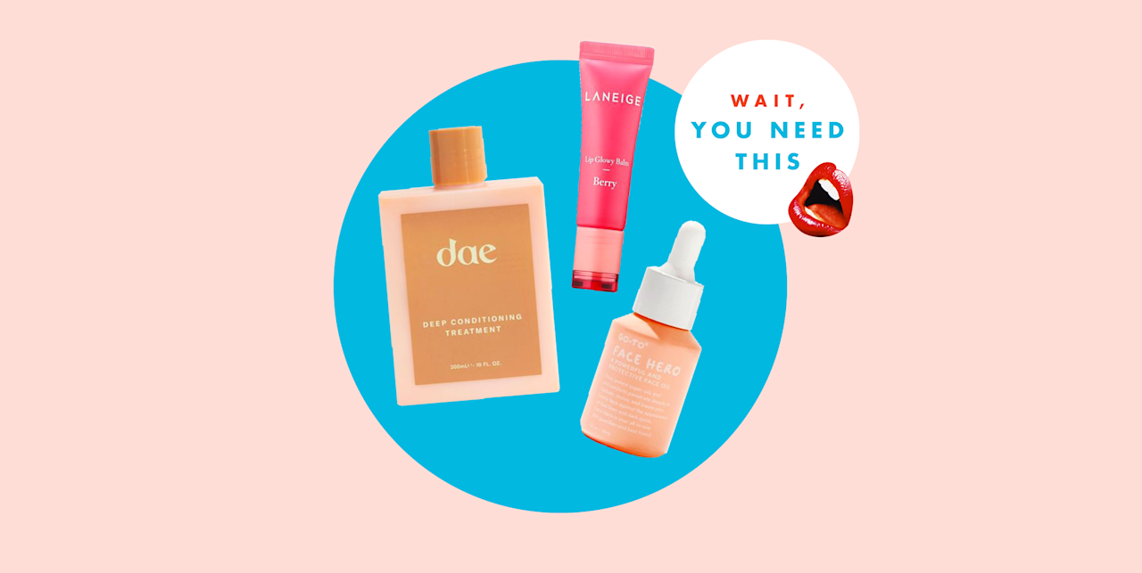 """<hr><p>✨<em><em>Hello, hi, and welcome to </em></em><strong><a href=""""https://www.cosmopolitan.com/wait-you-need-this-beauty-products/"""" target=""""_blank"""">Wait, You Need This</a></strong><em>, a biweekly series highlighting five brand-spanking-new products the </em>Cosmo<em> beauty team ('sup!) can't and won't shut up about. </em>✨</p><hr><p>Excuse me while I state the obvious, but considering the current state of the world, it can be hard to find meaning in something as small as beauty products. While, yes, I'm a beauty editor and writing about makeup, skincare, and hair is my actual profession, I'll be the first to recognize that throwing on a <a href=""""https://www.cosmopolitan.com/style-beauty/beauty/g29596887/overnight-sleeping-face-mask/"""" target=""""_blank"""">face mask</a> or taking a <a href=""""https://www.cosmopolitan.com/style-beauty/beauty/g22701156/best-bath-bombs/"""" target=""""_blank"""">bath</a> isn't going to help the fact that people's lives are currently at risk. What I <em>will</em> say, though, is that any outlet that brings you joy—no matter how tiny or insignificant it may seem—is incredibly important for your mental health right now, and for the <em>Cosmo</em> beauty team, one of those things is, and always will be, beauty (surprise). </p><p>So instead of rounding up our favorite new launches of the week like we usually do, we're trying something a lil different: talking about the products that are truly making us happy right now during a time when we really need some joy. Hopefully you'll get inspired to do some self-care this week—whether it's with these products or stuff you already own (not everyone can spend extra cash right now, and we get that). Whatever helps you feel a bit more centered, we fully support. </p>"""