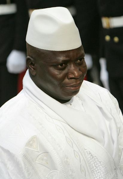 Jammeh now lives in exile in Equatorial Guinea (AFP Photo/BEHROUZ MEHRI)