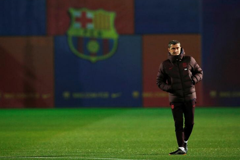 Ernesto Valverde Questioned after Another Late Collapse By Barcelona