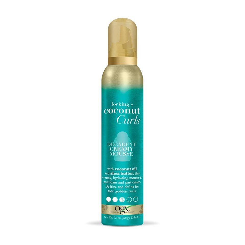 """If you have thirsty curls, this creamy mousse is packed with coconut oil and shea butter to give your strands a major hydration boost.<br /><br /><strong>Promising review</strong>: """"I've FINALLY found 'the one'! <strong>I</strong>'<strong>ve tried hundreds of products (including wasting tons of money on 'professional' products) for curly hair and none hold a curl like this!</strong>My curls are soft yet the hold is amazin<strong>g. I used to have to diffuse my curls and then use hairspray to lock them in place, not anymore!</strong>Just put the product in, scrunch and go! It smells wonderful too! I usually never write reviews but after 30+ years of searching for the perfect curly hair product, I found it!<strong>Forget the more expensive brands and buy this!</strong>You will not be disappointed."""" —<a href=""""https://www.amazon.com/dp/B076RW5LKG?tag=huffpost-bfsyndication-20&ascsubtag=5815832%2C19%2C36%2Cd%2C0%2C0%2C0%2C962%3A1%3B901%3A2%3B900%3A2%3B974%3A3%3B975%3A2%3B982%3A2%2C16174570%2C0"""" target=""""_blank"""" rel=""""nofollow noopener noreferrer"""" data-skimlinks-tracking=""""5892167"""" data-vars-affiliate=""""Amazon"""" data-vars-href=""""https://www.amazon.com/gp/customer-reviews/R2XUBE3JJYFIVP?tag=bfemmalord-20&ascsubtag=5892167%2C28%2C50%2Cmobile_web%2C0%2C0%2C16502736"""" data-vars-keywords=""""cleaning,fast fashion,skincare"""" data-vars-link-id=""""16502736"""" data-vars-price="""""""" data-vars-product-id=""""20957447"""" data-vars-product-img="""""""" data-vars-product-title="""""""" data-vars-retailers=""""Amazon"""">Robert Lyden Newquist</a><br /><br /><strong>Get it from Amazon for<a href=""""https://www.amazon.com/dp/B076RW5LKG?tag=huffpost-bfsyndication-20&ascsubtag=5815832%2C19%2C36%2Cd%2C0%2C0%2C0%2C962%3A1%3B901%3A2%3B900%3A2%3B974%3A3%3B975%3A2%3B982%3A2%2C16174570%2C0"""" target=""""_blank"""" rel=""""nofollow noopener noreferrer"""" data-skimlinks-tracking=""""5892167"""" data-vars-affiliate=""""Amazon"""" data-vars-asin=""""B076RW5LKG"""" data-vars-href=""""https://www.amazon.com/dp/B076RW5LKG?tag=bfemmalord-20&ascsubtag=5892167%2C28%2C50%2Cmobile_we"""