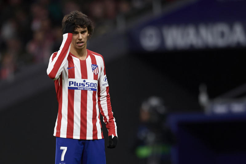João Félix has not lived up to his price tag so far for Atletico Madrid. (Photo by Jose Breton/Pics Action/NurPhoto via Getty Images)