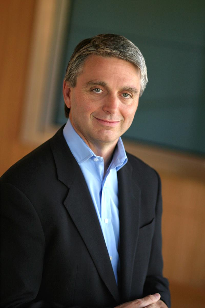 This 2005 photo released by Electronic Arts shows John Riccitiello in Menlo Park, Calif. Video game publisher Electronic Arts says its CEO, John Riccitiello, will step down on March 30. Electronic Arts Inc. said Monday, march 18, 2013 that it has named Larry Probst as executive chairman while it searches for a replacement.  (AP Photo/Electronic Arts, Mast Photography)