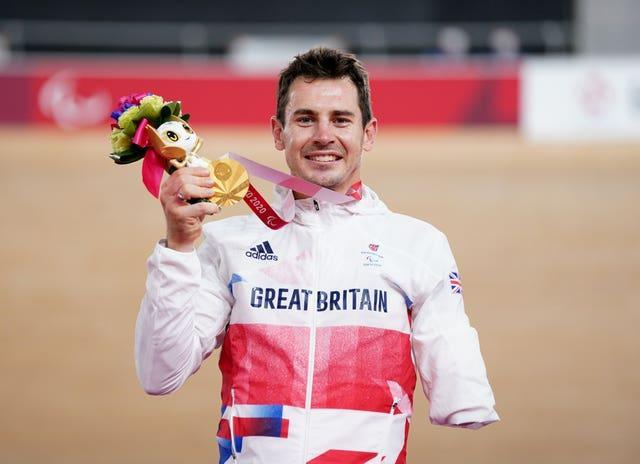 Great Britain cyclist Jaco Van Gass suffered life-changing injuries in Afghanistan