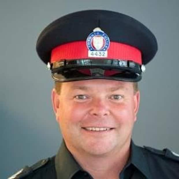 A spokesperson for the Toronto Police Service said that Insp. Chris Boddy was suspended with pay after he was charged with impaired driving in late August. (Twitter - image credit)