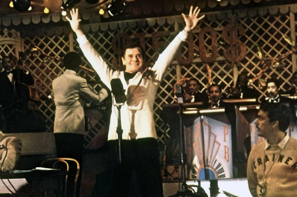 "Gig Young, Best Supporting Actor, 'They Shoot Horses, Don't They?' (1969)  A notorious lush in real life, Gig Young was often cast in drunk roles. In ""They Shoot Horses, Don't They,"" Young portrays the exploitative master of ceremonies at a Depression-era dance marathon. Young's drinking eventually grew so out of control that he was unable to find work and, in a final act of desperation, the 64-year-old star shot his new, 21-year-old wife and then turned the gun on himself."
