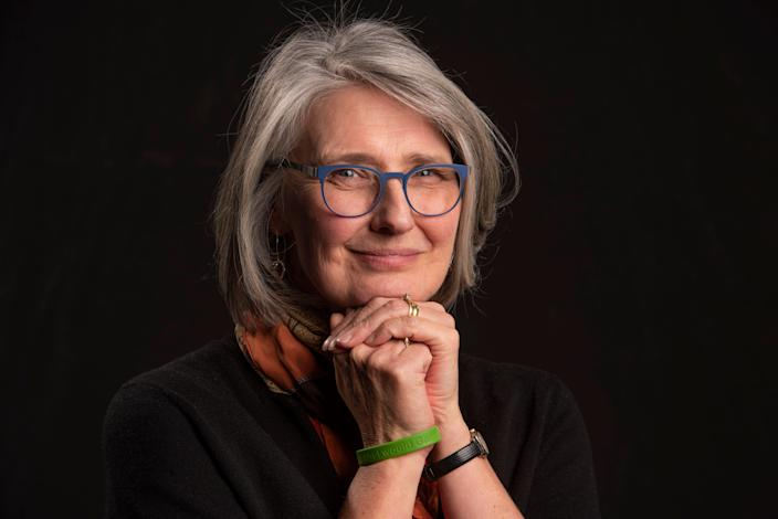 Author Louise Penny, in New York on Dec. 6 for a BookmarkThis chat with USA TODAY.