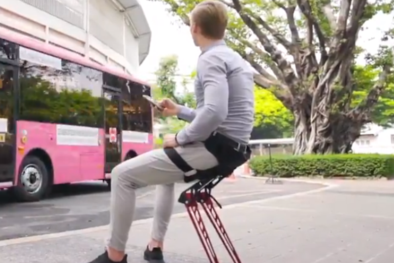 Wearable Chairs are a Thing Now But the Internet is Unwilling to Take a Seat