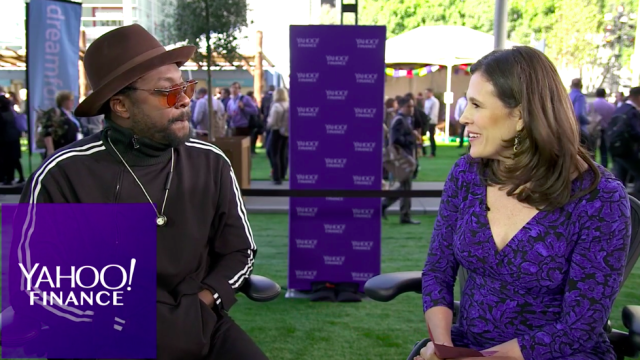 will.i.am sits down with Yahoo Finance at the Dreamforce conference to talk his recent focus on tech