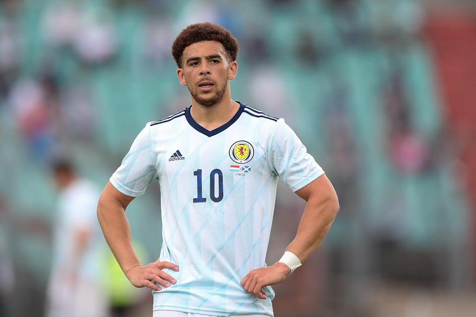 Che Adams is set to star in Scotland's Euro opener (Getty Images)