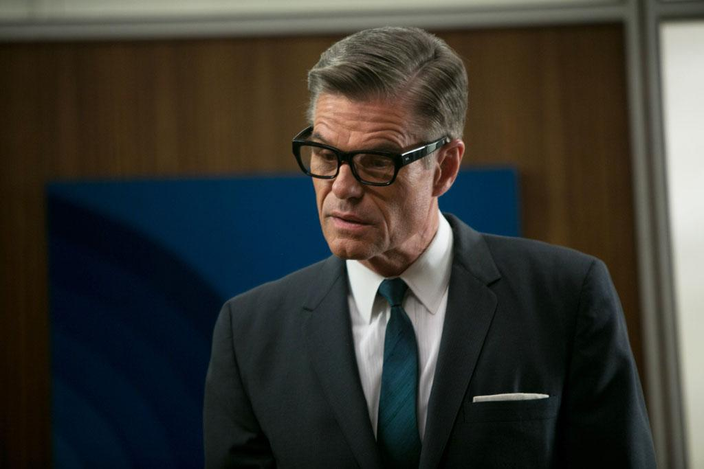 "Jim Cutler (Harry Hamlin) in the ""Mad Men"" episode, ""Favors."""