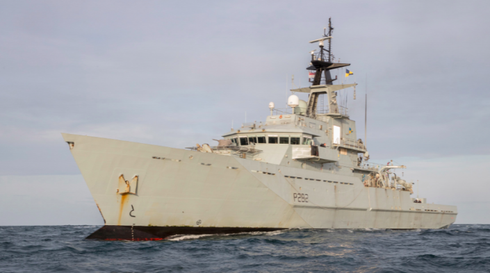 HMS Severn was originally decommissioned in 2017. (Ministry of Defence)