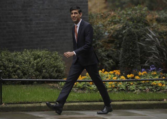 Rishni Sunak is believed to be taking over as chancellor as the exchequer (AP)