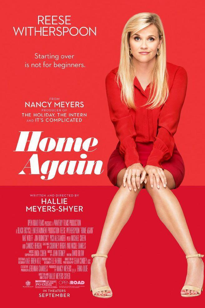 "<p>Reese Witherspoon is a romantic comedy master, and this one's no different. Packed with humor and #RealMom jokes, <em>Home Again</em> is the story of a <a href=""https://www.goodhousekeeping.com/life/relationships/g26431225/divorce-quotes/"" rel=""nofollow noopener"" target=""_blank"" data-ylk=""slk:newly separated"" class=""link rapid-noclick-resp"">newly separated</a> famous director's daughter, Alice who invites three aspiring film makers to live with her and her two young children. As a romance blossoms with one gentleman, her husband makes a visit to the L.A. home. That turns out about as you'd expect. </p><p><a class=""link rapid-noclick-resp"" href=""https://www.amazon.com/Home-Again-Comedy-Drama-TopFive/dp/B078MYY7J3/ref=sr_1_2_sspa?s=movies-tv&ie=UTF8&qid=1514482518&sr=1-2-spons&keywords=home+again&psc=1&tag=syn-yahoo-20&ascsubtag=%5Bartid%7C10055.g.3243%5Bsrc%7Cyahoo-us"" rel=""nofollow noopener"" target=""_blank"" data-ylk=""slk:STREAM NOW"">STREAM NOW</a></p>"